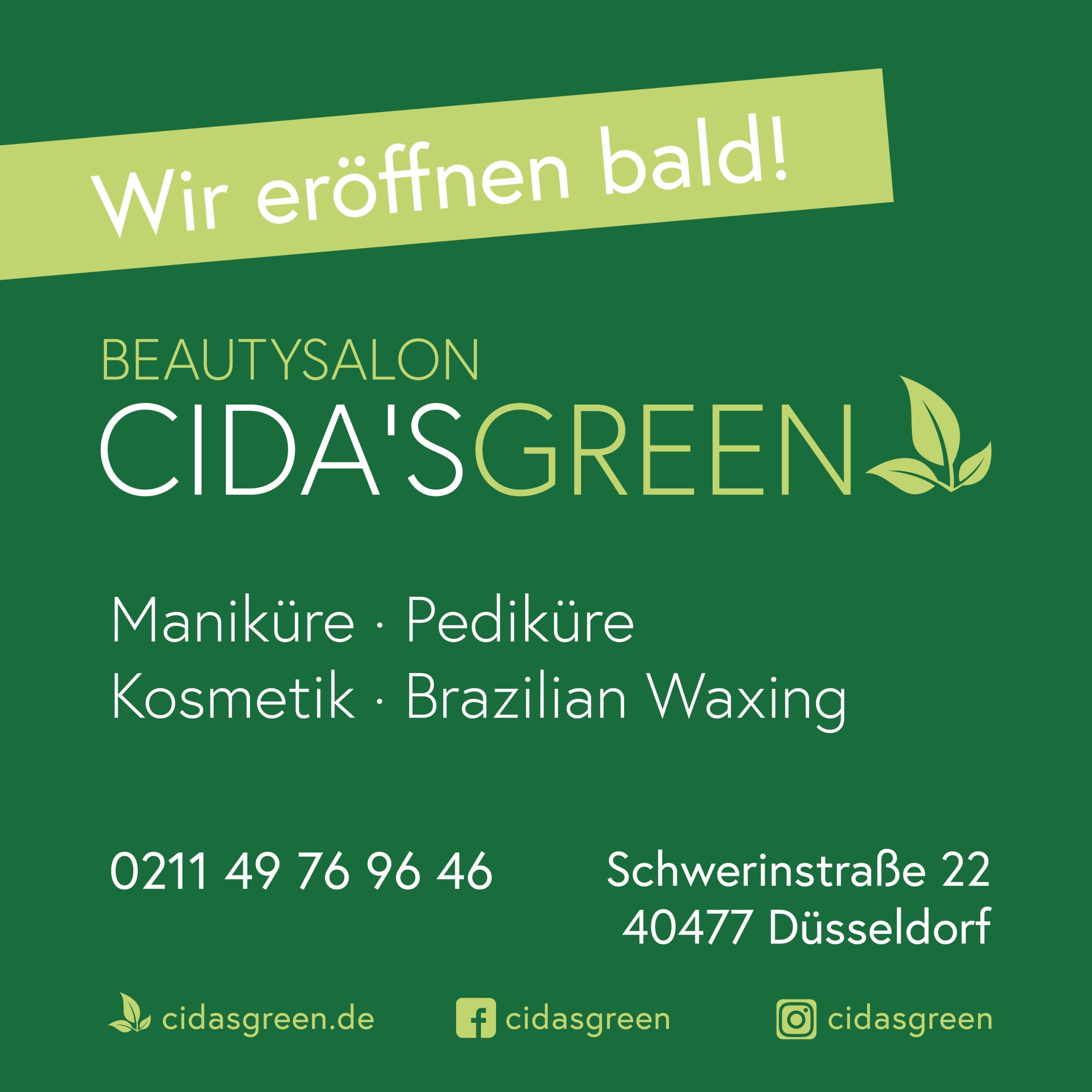 CIDA'S GREEN Wir eröffnen bald
